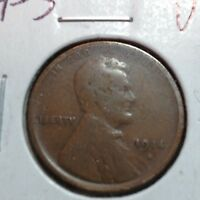 1914-S  VG  LINCOLN CENT