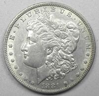 SILVER 1881-P US 90 SILVER GORGEOUS MORGAN DOLLAR AIR-TITE CAPSULE      MD121