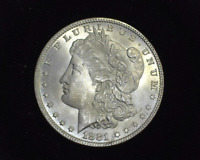 HS&C: 1881 MORGAN SILVER DOLLAR BU - US COIN