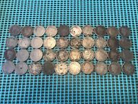 COMPLETE ROLL OF 40 1910 LIBERTY HEAD V NICKELS