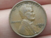 1932 D LINCOLN CENT WHEAT CENT- FINE/VF DETAILS, CHOCOLATE BROWN