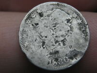 1830 SILVER CAPPED BUST HALF DIME