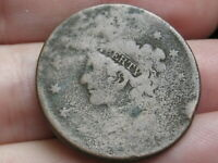 1835-1839 MATRON HEAD MODIFIED LARGE CENT PENNY