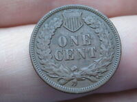 1909 P INDIAN HEAD CENT PENNY- VF DETAILS