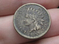 1859 COPPER NICKEL INDIAN HEAD CENT PENNY- VF/EXTRA FINE  DETAILS