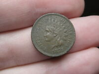 1875 INDIAN HEAD CENT PENNY- VF/EXTRA FINE  DETAILS