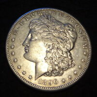 1896-S MORGAN SILVER DOLLAR - SOLID EXTRA FINE  DETAILS FROM THE SAN FRANCISCO MINT