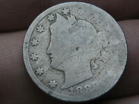 1889 LIBERTY HEAD V NICKEL 5 CENT PIECE