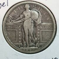1917-S TYPE 1 F-VF  STANDING LIBERTY QUARTER    COIN
