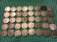 COMPLETE ROLL OF 40 1896 LIBERTY NICKELS- LOW MINTAGE DATE