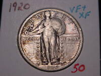 1920 STANDING LIBERTY QUARTER VF  EXTRA FINE   COMBINED SHIPPING