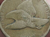 1858 FLYING EAGLE PENNY CENT- VG/FINE DETAILS, SMALL LETTERS