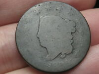1825 MATRON HEAD LARGE CENT PENNY- LOWBALL, HEAVILY WORN, PO1 CANDIDATE?