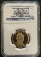 2011 ULYSSES S. GRANT  PRESIDENTIAL DOLLAR COIN NGC GRADED PF69 ULTRA CAMEO