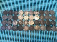 COMPLETE ROLL OF 40 1908 LIBERTY HEAD V NICKELS