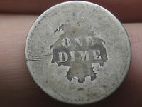 1860-1891 SEATED LIBERTY SILVER DIME