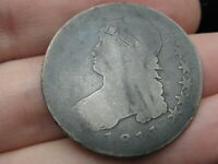 1811 CAPPED BUST HALF DOLLAR- SMALL 8
