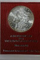 1888 S $1 THE REDFIELD COLLECTION MINT STATE 65 PICC