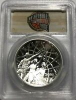 2020 $1 BASKETBALL SILVER DOLLAR HALL OF FAME PCGS PR70 DCAM