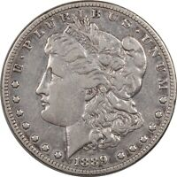 1889-CC MORGAN DOLLAR - HIGH GRADE CIRCULATED EXAMPLE, KEY DATE, STRONG DETAIL