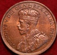 1916 CANADA ONE CENT FOREIGN COIN