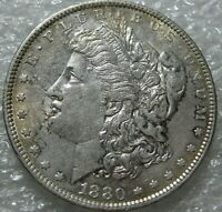 1880 O MORGAN SILVER DOLLAR  CLOSE TO UNCIRCULATED  BETTER DATE
