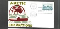 US FDC FIRST DAY COVERS  1128 ARCTIC EXPLORATION 1959  VELVE