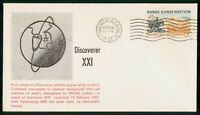 US SPACE 1961 DISCOVERER XXI VANDENBERG AFB COVER