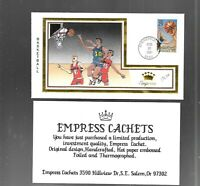 US FDC FIRST DAY COVERS  2560 BASKETBALL 1991  BY EMPRESS