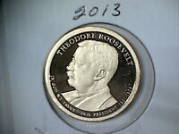 2013 S PROOF  PRESIDENTIAL DOLLAR THEODORE ROOSEVELT