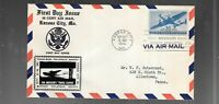 US FDC  FIRST DAY COVER   C30  AIR MAIL 30 CENTS 1941  BY CR