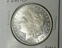 1881-O MORGAN SILVER DOLLAR NEW ORLEANS MINT UNCIRCULATED PROOF-LIKE 8520