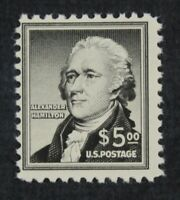 CKSTAMPS: US STAMPS COLLECTION SCOTT1053 $5 HAMILTON MINT NH
