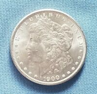 1900 MORGAN SILVER DOLLAR  UNCIRCULATED  FRESHLY UNWRAPPED