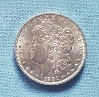 1891 MORGAN SILVER DOLLAR  UNCIRCULATED  FRESHLY UNWRAPPED