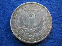 1900 MORGAN SILVER DOLLAR - LIGHT KIND OF IRIDESCENT TONED EXTRA FINE /AU