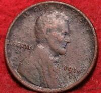 1914 D DENVER MINT COPPER LINCOLN WHEAT CENT