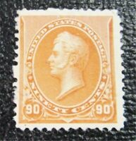 NYSTAMPS US STAMP  229 MINT OG H $475