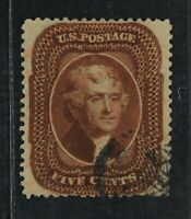 CKSTAMPS: US STAMPS COLLECTION SCOTT30 5C JEFFERSON USED