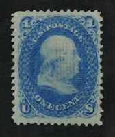 CKSTAMPS:US STAMPS COLLECTION SCOTT92 1C FRANKLIN UNUSED REG
