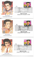 5 1993 FIRST DAY COVERS 2721 AMERICA MUSIC SERIES ELVIS PRES