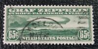 NYSTAMPS US AIR MAIL STAMP  C13 USED $165