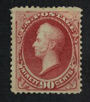 CKSTAMPS: US STAMPS COLLECTION SCOTT155 90C PERRY UNUSED REG