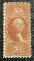 NYSTAMPS US REVENUE STAMP  R100C USED $250