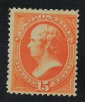 CKSTAMPS: US STAMPS COLLECTION SCOTT189 15C WEBSTER MINT HR