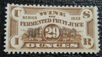 NYSTAMPS US REVENUE STAMP  REF8 USED $225