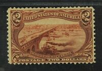 CKSTAMPS: US STAMPS COLLECTION SCOTT293 $2 TRANS MISSISSIPPI