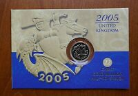 2005 HALF SOVEREIGN   ONE YEAR TYPE   ROYAL MINT PACK