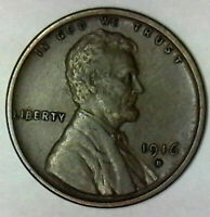 HIGHER GRADE 1916 D LINCOLN  BUY IT NOW SHIPS FREE IN THE USA