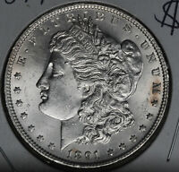 UNCIRCULATED 1891 MORGAN DOLLAR